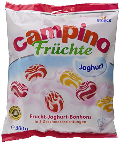 Campino Lutschbonbons in verschiedenen Geschmacksrichtungen