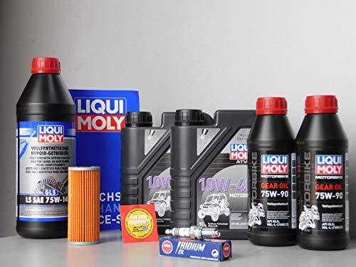 MotorFunSports  TGB Blade 1000 - Kit de Mantenimiento con Filtro de Aceite, bujía de iridio y Aceite