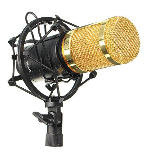 M.Way Microphone à Condenseur Professionnel...