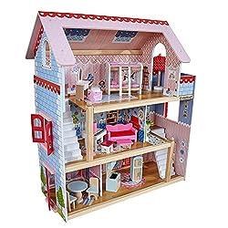 cute dollhouses for gifls, dollhouses with furniture, inexpensive dollhouses, good dollhouses for girls