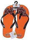 HotFlops New! Oklahoma State Cowboys NCAA Ladies Football Flip Flops Beach Sandal Shoes - Adult Size Medium (8-9)