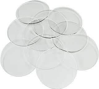LITKO 1.5mm Clear Miniature Bases, Circular 50mm (10)