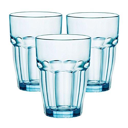Bormioli Rocco Rock Bar Lounge hielo 12,5oz vaso de cristal, Set de 12