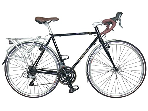 VIKING Herren Coniston 700C Road Bike, schwarz, 58cm