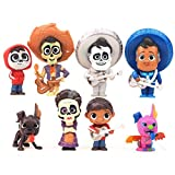 Set di 8 Personaggi del Film Coco Colletion Miguel Hector Dante Imelda Pepita Action Figure Giocattoli Modello Bambole Giochi per Bambini