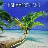Summerdreams 2020 - Sommerträume - Wandkalender - Broschürenkalender (30 x 60 geöffnet) - Landschaftskalender - Wandplaner - Strand - Meer