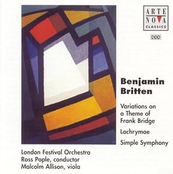 Britten: Variations on a Theme of Frank Bridge, Lachrymae & Simple Symphony
