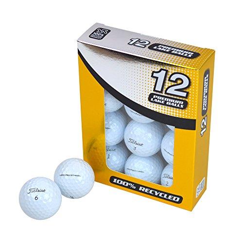 Second Chance Titleist Pro V1 Lake Balles de golf Set de 12