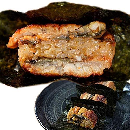 【照寿司監修】鰻バーガー8切れセット (340g 8切れ)高級国産海苔8枚付き