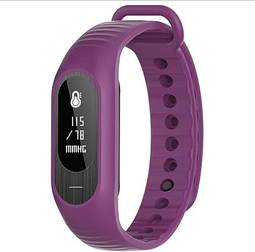 Weq Mode Sport Smart Bracelet Fréquence Cardiaque Surveillance de la Pression artérielle bleutooth Compteur de Pas bleutooth Rappel Intelligent Bracelet Imperméable à l'eau (Couleur   vert)
