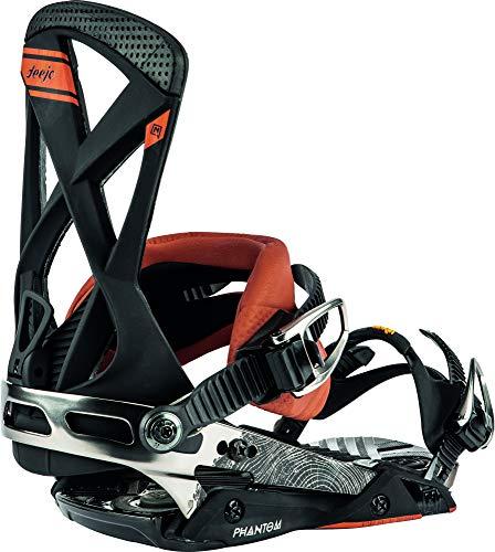 Nitro Snowboards Herren Phantom '20 All Mountain Freeride Freestyle Premium Bindung Snowboardbindung, Nitro X Deejo, L