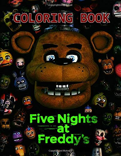 Five Nights At Freddy's Coloring Book: Freddy Fazbear's Pizza Jumbo Colouring Books