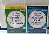 Merriam-Webster's Spanish/English Dictionary & Medical Desk Reference (Jewel Case)