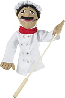 Melissa and Doug Chef Puppet 2553 - Puppet and Puppet Theatre