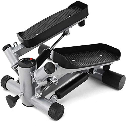 YF-SURINA Fitness Equipment Indoor Sports Equipment Stepper, Fitness Pedal Fitness Home Vertical Swing Stepper Swings Left and Right, Indoor Fitness Equipment Hydraulic Cable Mute