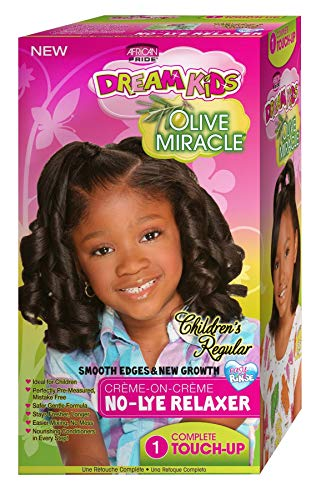 African Pride Dream Kids Olive Miracle Touch-Up Relaxer Regul