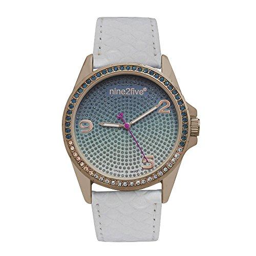 Reloj Nine2Five Lille para Mujer 40mm, pulsera de Cuero Sintético