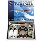 Paasche Airbrush HS-Set Aerógrafo de alimentación de sifón de acción única