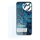 Bruni Schutzfolie kompatibel mit Kiano Elegance 6.1 Folie, glasklare Bildschirmschutzfolie (2X)