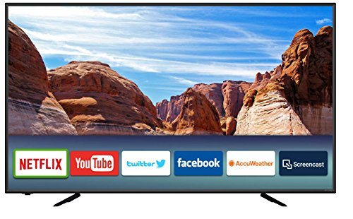"""ATYME 650AX7UD, 65"""" Class, 60Hz, 4K Smart LED TV with Built-in Apps (Netflix, YouTube, Twitter, Pandora, Accuweather, Facebook)"""