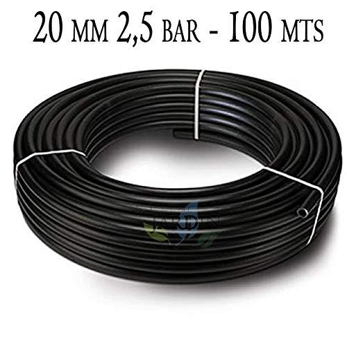 Suinga PE tuinslang 20 mm x 100 m zwart Maximale druk 2,5 bar