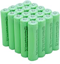 GEILIENERGY AA Rechargeable NiCD Battery, 1.2V 600mAh High Capacity AA Batteries for Solar Lights, Garden Lights, Yard Light(Pack of 20)