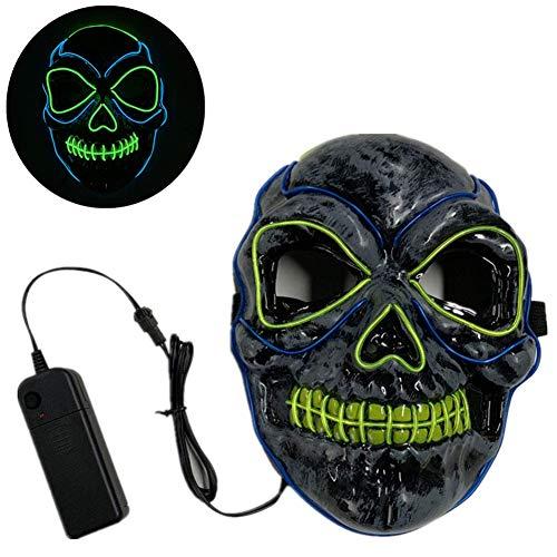 Halloween masker LED Light Up Purge Masker for Festival Cosplay Halloween kostuum LOLDF1