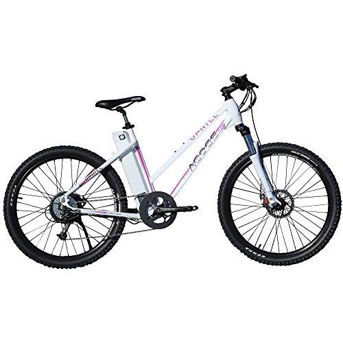agogs MTB Uphill Woman 26pulgadas eléctrico–Bicicleta de montaña (48cm Marco de Aluminio bafang Motor 250W 48V 430WH Sony Konion V3batería Shimano Deore schaltung S de MTB E-bike Pedelec