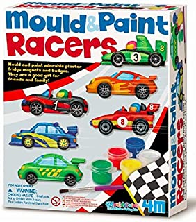4M Mould and Paint Racers Arts and Crafts Toy [00-03544]