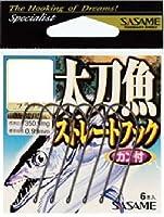 ささめ針(SASAME) TS-05 太刀魚ストレートフック 1/0