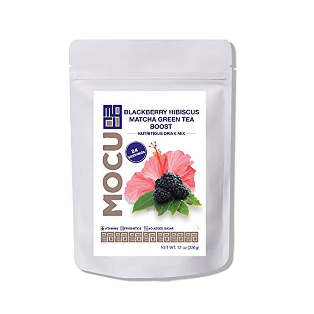 Ranking TOP4 MOCU Blackberry Hibiscus Matcha Mix Sweet Drink Popular overseas Tea