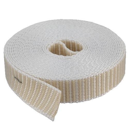 Rolladengurt Rolle 50 m, beige 23 mm maxi mit Polyesterkantenschutz