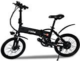 """i-Bike I- Fold 20, Bicicletta Ripiegabile Elettrica con Pedalata Assistita Uomo, Ruote da 20"""",..."""
