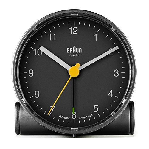 Braun BNC001BK Crescendo wekker, klassiek design, zwart