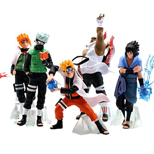Woorea Figura de acción de Naruto de PVC, Juguete Anime,Anime Puppets Figura...