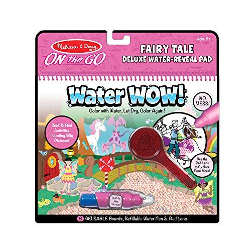 Melissa & Doug 40173 Water Wow-Fairy Tale Deluxe | Activity Pad | Reise | ab 3 Jahren | Geschenk für Jungen oder Mädchen