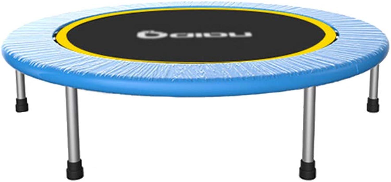 garantizado Trampolín Trampolín Trampolín de 40 Pulgadas con pasamanos Ajustable, Plegable elástico Seguro para Niños Adultos (Color   Without armrests)  n ° 1 en línea