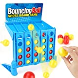 YEIBOBO ! Bounce Balls Shots Game Suitable for Connect Four