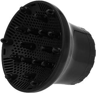 BECCYYLY Difusor Universal Difusor Ajustable Difusor de la Boquilla Adecuado para 1.57in a 1.97 Pulgadas para Cabello Ondulado Natural Natural, Negro wmpa