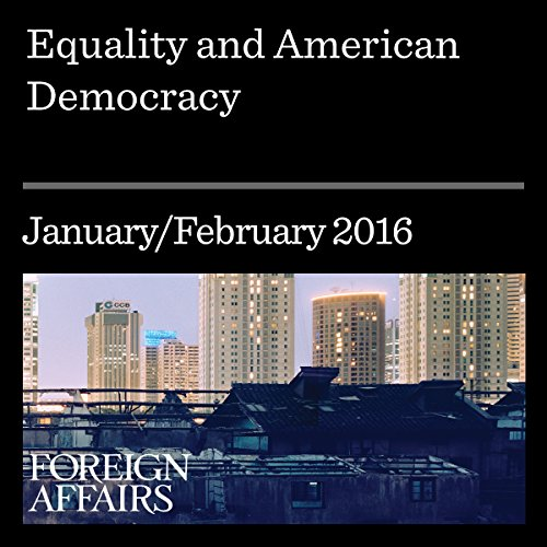 Equality and American Democracy audiobook cover art