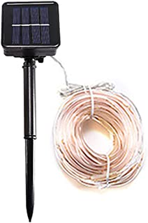 Goofly 1M Solar Rope String Light Garden Decoration Outdoor Waterproof Rope String Christmas Lamp Wedding Party Tree Xmas ...