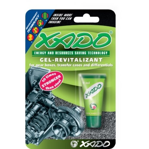 XADO Gel-Revitalizant for Gearboxes (Blister, 9 ml)