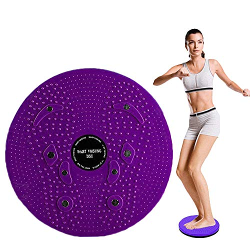 WSERE Twist Waist Twister Disc Board Wriggling Plate, Non Slip Body Shaping Twisting Waist Twister Plate Exercise Machine Rotating Balance Board for Legs Waist Foot Ankle Body Training