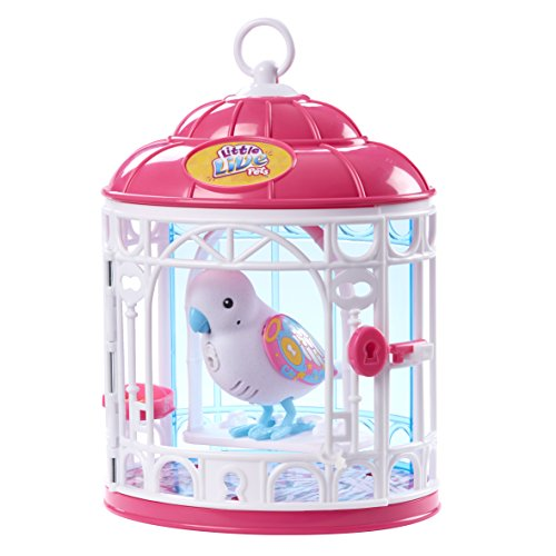 Little Live Pets Bird with Cage - Secret Angie