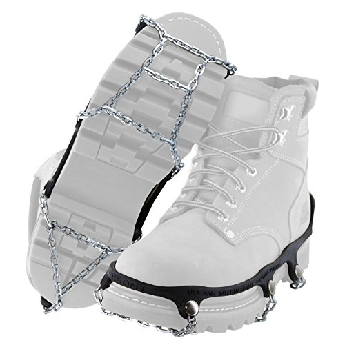 Yaktrax Traction Chains for Walking on Ice and Snow (1 Pair), Medium