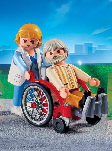 PLAYMOBIL® 4226 - Pflegerin mit Patient