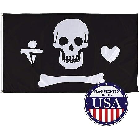 Birthday Party Supply Set Pack Kit w// Banner /& Flag Picks Jolly Roger Pirates