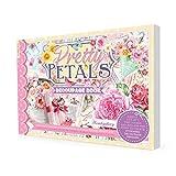 Hunlydory Crafts Pretty Petals Livre de découpage