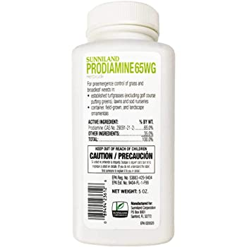 Yard Mastery Prodiamine 65 WDG Professional Pre Emergent Weed Killer Herbicide for Crabgrass, POA Annua and Other Problem Weeds - 5oz Bottle - Water Dispersible Granule