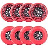 Best Inline Hockey Skates - AOWISH 8-Pack Asphalt Outdoor Inline Hockey Wheels 85A Review